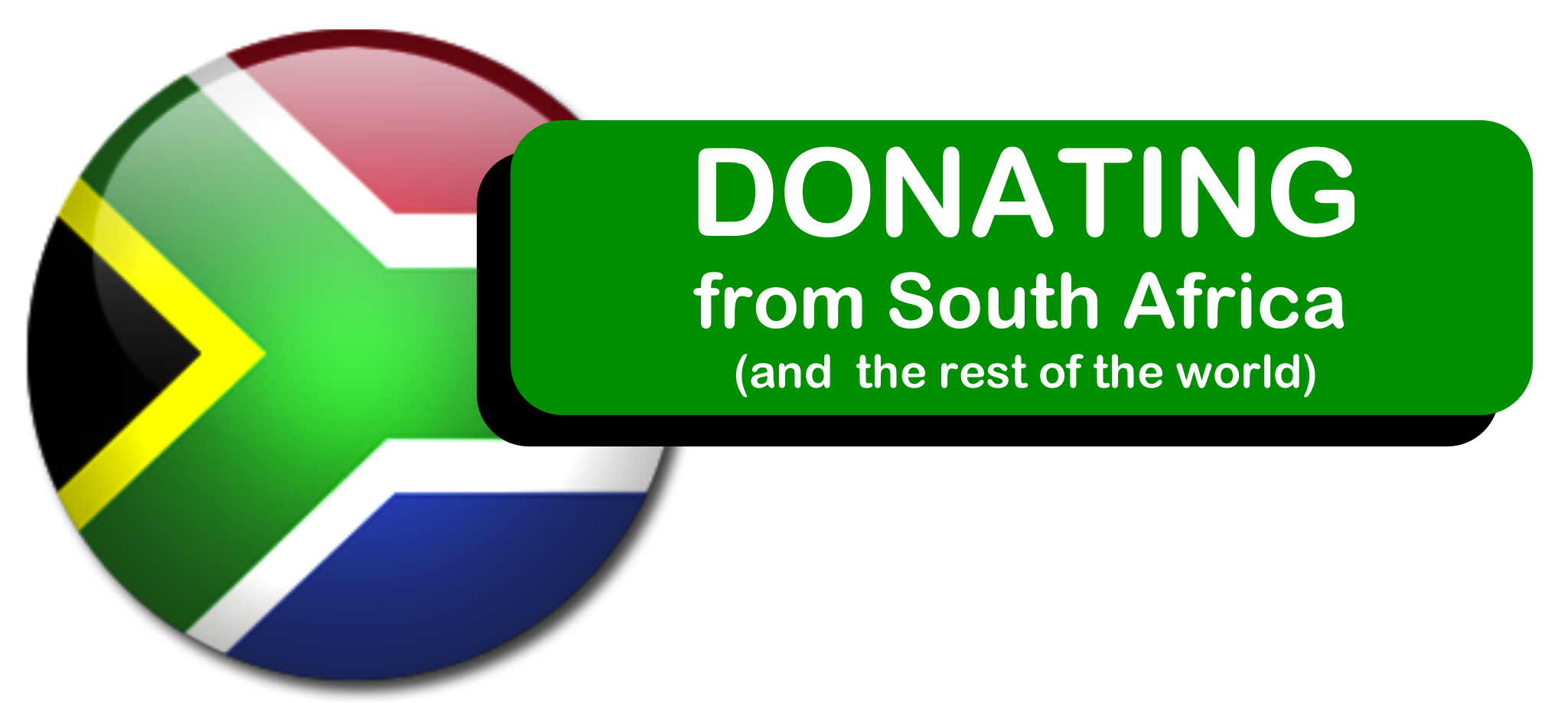 Donating from South Africa